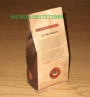 In túi giấy kraft đựng cafe, trà, hạt điều ... thiết kế miễn phí