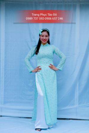 Chuyên cho thuê trang phục áo dài biểu diễn