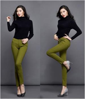 Quần skinny lưng cao đẹp (QD177)