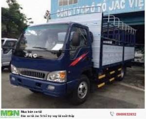 Bán xe tải Jac 5t hỗ trợ vay  lái suất thấp