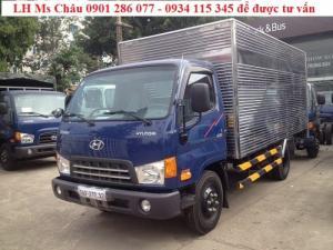 Bán Xe Tải Hyunhdai HD85 (4.5 Tấn) Thùng Kín+Nhập khẩu Hàn Quốc/giá cạnh tranh+ trả góp 70%+thủ tục nhanh +giao xe nhanh