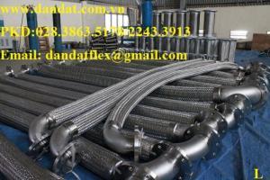 Ống mềm chống rung động cơ dùng cho nhà máy ô tô (khớp nối mềm, bô chống rung, ống mềm inox)
