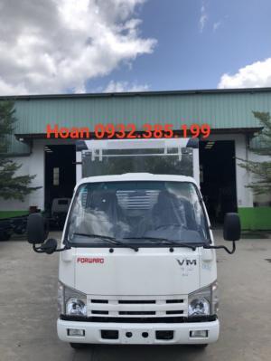 Xe tải thùng kín Isuzu 1,9 tấn thùng dài 6m2 Nk490SL