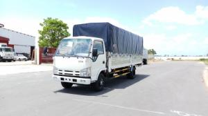 Xe tải Isuzu 2,4 tấn thùng dài 4m3 NK490L