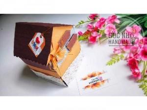 House box - hộp quà dán hình ngôi nhà