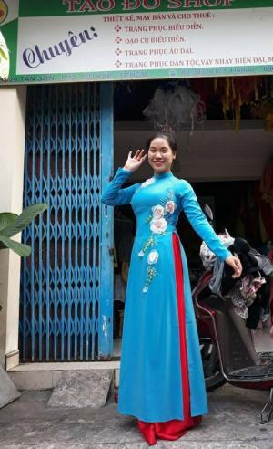 Cho thuê áo dài cách tân và truyền thống giá rẻ