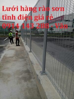 Sản xuất Lưới thép hàng rào bẻ tam giác giá rẻ
