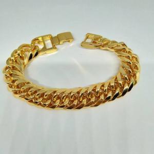 Lắc tay nam nữ mạ vàng