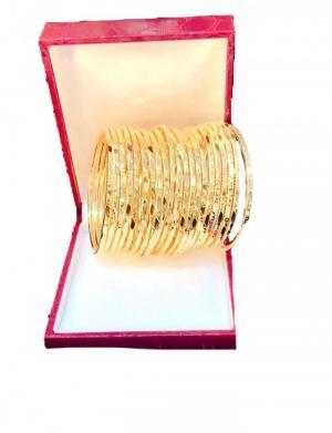 Vòng ximen mạ vàng có khóa gài