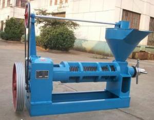 Máy ép dầu lạc công nghiệp chính hãng, lắp đặt tại nhà, bảo hành 12 tháng 6YL -100