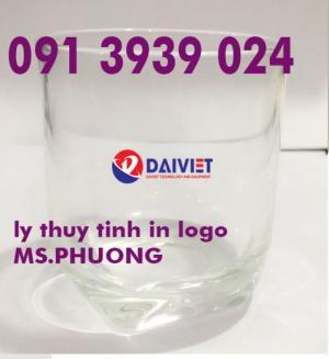 In ly thủy tinh giá rẻ in hình lên ly thủy tinh tphcm