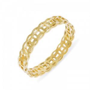 Nhẫn kim tiền tài lộc mạ vàng