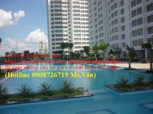 Cần cho thuê căn hộ gấp Giai Việt, Dt 82m2, 2 phòng ngủ, nhà trống, nhà rộng thoán