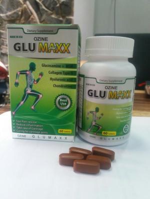 TPCN của Mỹ Ozine Glumaxx – Giảm đau nhức xương khớp, hỗ trợ điều trị thoái hóa khớp