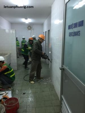 Cải tạo sửa chữa nhà xưởng-Vệ sinh công nghiệp