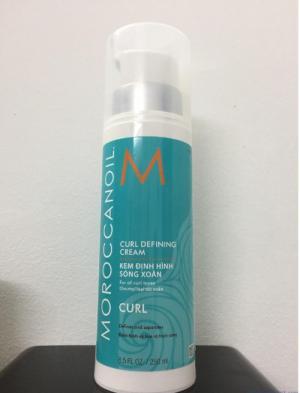 Kem định hình sóng xoăn Moroccanoil Curl Definding Cream 250ml
