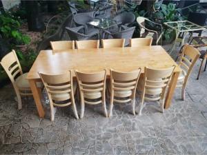 Bàn ghế quán ăn 10 ghế
