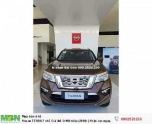 Nissan TERRA 7 chỗ Giá chỉ từ 980 triệu (2018) ( Nhận cọc ngay hôm nay )