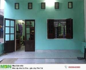 Nhà cấp bốn 5x 15m - gần chợ Phú Tài