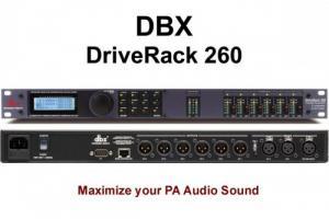 Máy xử lý âm thanh DRIVE RACK 260