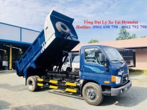 Xe ben Hyundai 7 tấn 6 khối giá rẻ