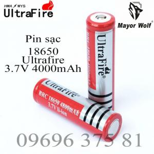 Pin sạc, pin tích điện, pin 18650, 26650-MayorWolf