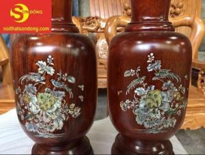 Lục bình gỗ lim cao 50 cm tại Tiền Giang