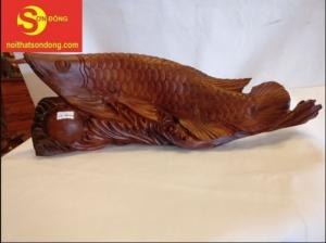 Tượng Cá Rồng Kim Long Tại Tiền Giang