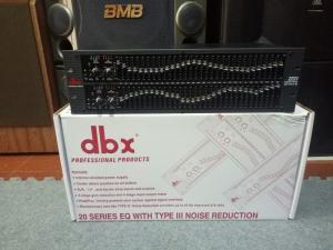 Lọc nhạc Equalizer DBX 1231 âm thanh chuyên nghiệp cho sân khấu