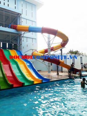 Máng trượt hồ bơi - Máng trượt trẻ em