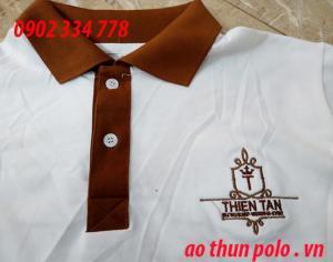 nhận may áo thun trắng đồng phục nhà hàng khách sạn