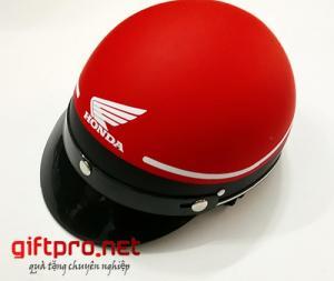 Xưởng sản xuất nón bảo hiểm quà tặng ở TPHCM.