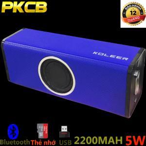 Loa Bluetooth Bass âm Thanh Sống Động chuẩn HIFI PKCB H5 3 trong 1 nhập khẩu cao cấp gắn thẻ nhớ usb cổng line in aux 3.5