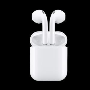 Tai nghe Bluetooth 2 tai iPhone máy tính bảng, Smartphone Trắng PKCBI8 - tai nghe