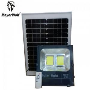 Đèn pha năng lượng mặt trời 100W MayorWolf