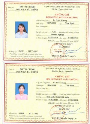 Học kế toán trưởng tại Hải Phòng, Ms Oanh