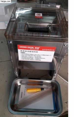 Máy thái tai heo, máy cắt sợi bì, máy cắt thịt heo, thịt bò, máy cắt tai heo, mõm heo làm giò thủ SS 80