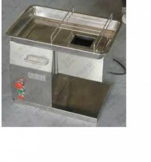 Máy thái sợi nấm mèo, máy cắt sợi mực tươi, máy cắt sợi cá thịt, máy thái thịt bò tái bán phở QX 250