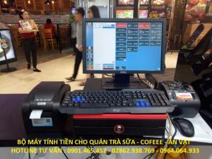 Bán Máy tính tiền giá rẻ cho Quán Trà Sữa tại Cần Thơ