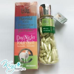 (Dành Cho Ban Ngày SPF/15) Nhau Thai Cừu Nha Đam và Vitamin E, 90 viên nang (Bill Natural Sources)