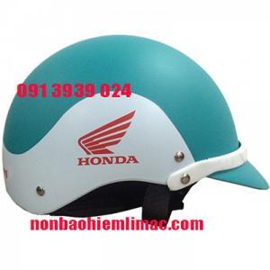 Nón bảo hiểm in logo Honda, nón bảo hiểm quà tặng xe máy giá rẻ tại tphcm
