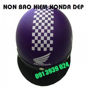 Mũ bảo hiểm in logo honda, làm mũ bảo hiểm quà tặng xe máy tại tphcm
