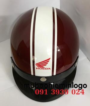 Đặt mũ bảo hiểm có in logo theo yêu cầu, địa chỉ sản xuất mũ bảo hiểm giá rẻ