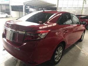Bán Toyota Vios G 1.5AT màu đỏ số tự động sản...
