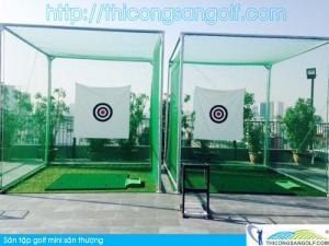 Tư vấn thiết kế và thi công khung lưới golf theo yêu cầu tại Hà Nội