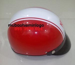 Báo giá nón bảo hiểm in logo công ty giá rẻ, địa chỉ sản xuất nón bảo hiểm uy tín