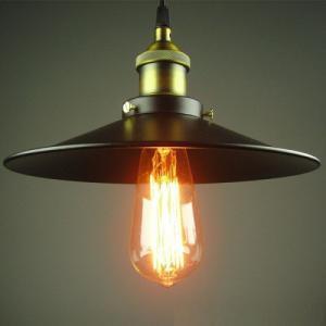 Đèn thả trần trang trí chóa sắt phi 300 giá 150k