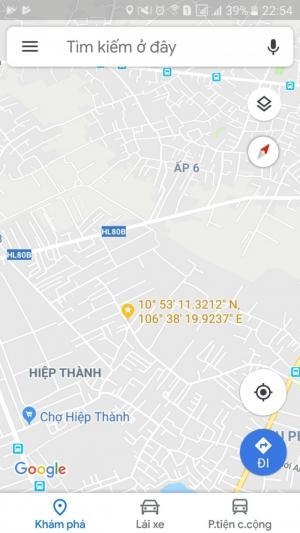2018-10-20 15:17:48  10  Cho thuê đất mặt tiền đường nhựa 10m, 8x17m,  phường Hiệp Thành, Q12 10,000,000