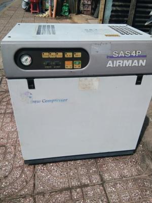 Máy nén khí Airman 3.7 kw 5hp Chất lượng