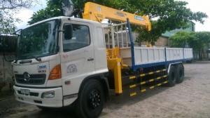 Xe tải Hino FL gắn cẩu Soosan 746L sức nâng...